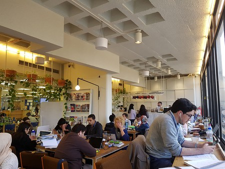 Rumi Café in Shoman Library | Courtesy of Ginin Dunia Rifai