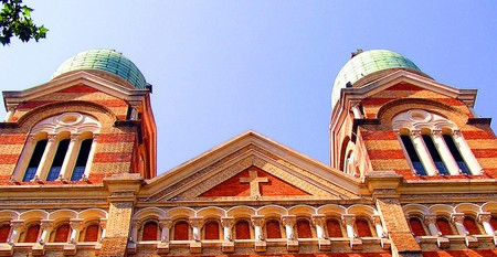 """<a href=""""https://www.flickr.com/photos/gillpenney/2218747532/"""">TianjinCatholicCathedral 