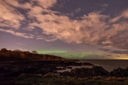 Orlock Point Aurora | © Philip McErlean/ Flickr