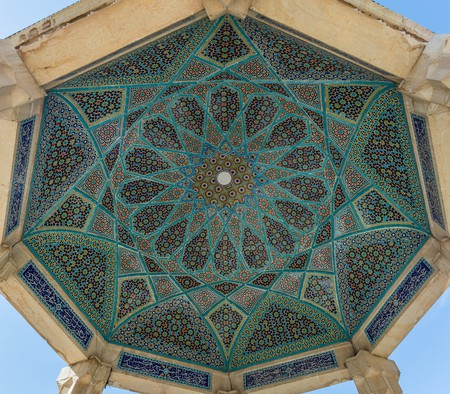 Ceiling of Hafez's tomb | © Diego Delso / Flickr