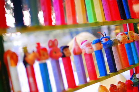 Army of PEZ dispensers | © Steve Snodgrass / Flickr