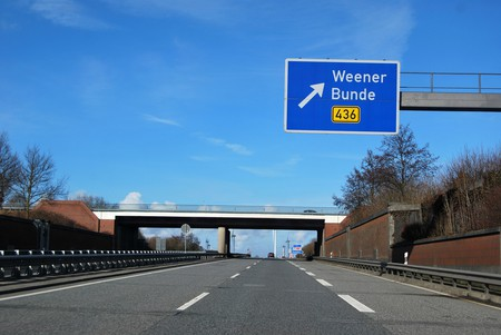 This way for Weener