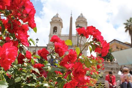 Spanish Steps in Spring | ©  oh_darling/Flickr