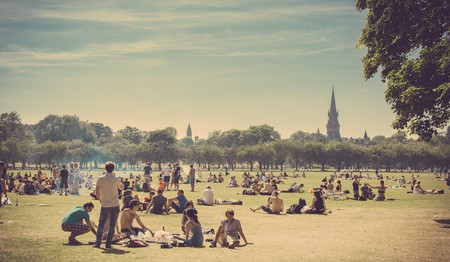 Sunbathers In The Meadows | © easy-lucky-free / Flickr