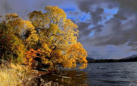 Lake Hayes, Otago in Autumn | © Bernard Spragg/Flickr