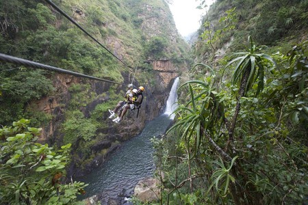 Keep a lookout for the varietyof wildflowers and orchids adorning the cliffs | Courtesy of Canopy Tours