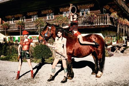 'On the High Horse', 2015   Courtesy of Ellen von Unwerth