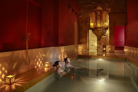 Relax at a traditional Moroccan steam bath   Courtesy of Palma Hammam