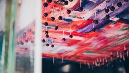 Edible ceiling by Janice Wong