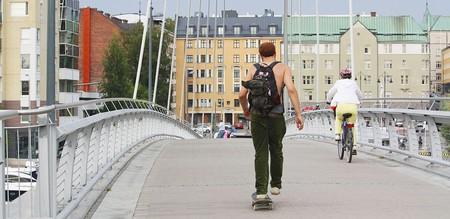 Skating in Tampere, Finland | © Anneli Salo/WikiCommons