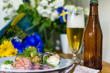Salmon is one of the most popular foods in Sweden. Herring is eaten mainly on holidays, like Midsummer | Pixabay
