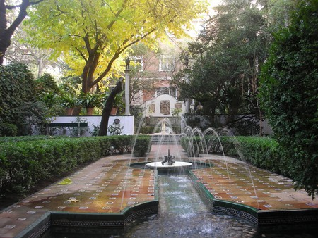 The garden at the Museo Sorolla