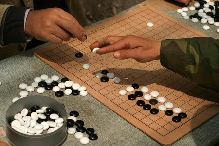 Playing Go in Shanghai | Courtesy of Wikimedia Commons