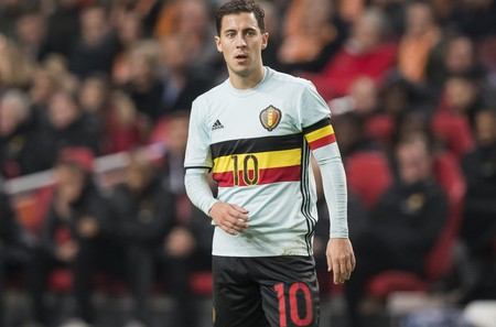 Eden Hazard for Belgium    © Hollandse Hoogte/REX/Shutterstock (7429185az)