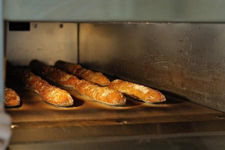 Fresh baguettes at Pain Plaisir @ Pain Plaisir