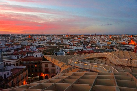 Sunset from Las Setas, Seville | © Encarni Novillo