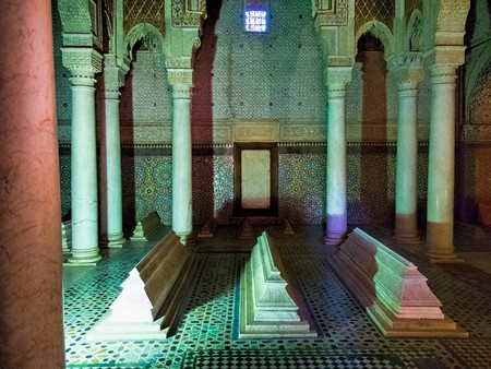 Inside the Saadian Tombs, Marrakesh | © Dan Lundburg / Flickr