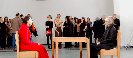 """""""Marina Abramović: The Artist Is Present,"""" at the Museum of Modern Art © Andrew Russeth"""