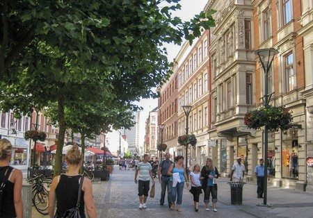 Malmö's streets offer something for everyone | Photo courtesy of Wikipedia Commons