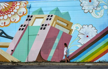 Mural in Mills50 District Orlando || Photo Credit Kelsey Glennon