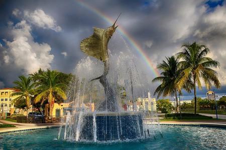 Stuart, Florida Sailfish Fountain   Mitch Kloorfain/Flickr
