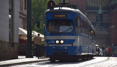 A tram in Krakow   © Joseph Richard Francis