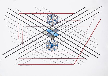 Monir Shahroudy Farmanfarmaian, Untitled, 2012 | © Monir Shahroudy Farmanfarmaian