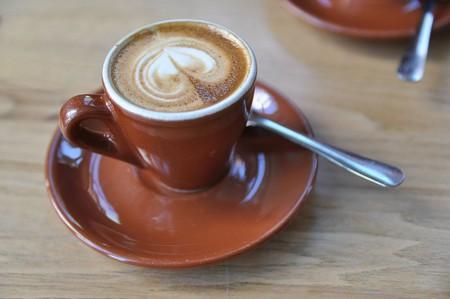 A macchiato from Blue Bottle Coffee   © Jonathan McIntosh/WikiCommons