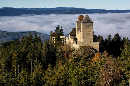 KašperkCastle in the Bohemian Forest foothills |© Jiří Strašek / Wikimedia Commons