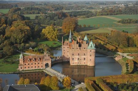 Egeskov Castle is Europe's best preserved Renaissance water castle