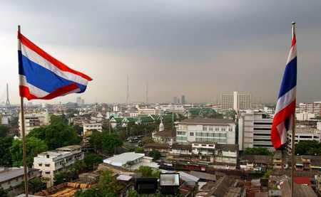A Bangkok Skyline | © Bernard Spragg. NZ / Flickr