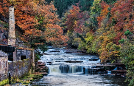 River Clyde, New Lanark | © Oliver Clarke/Flickr