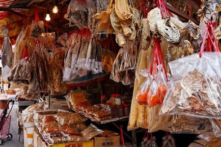 "<a href=""https://www.flickr.com/photos/denniswong/3374727899/"">Dried seafood stall | © Dennis Wong/ Flickr</a>"