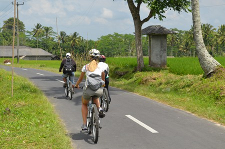 Cycling in Ubud, Bali   © eGuide Travel/Flickr
