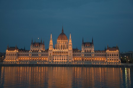 The Hungarian Parliament | © Francisco Antunes