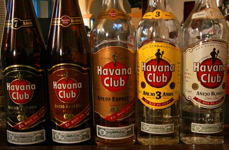 """Cuba's top brand of rum 