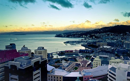 View from the Majestic Centre, Wellington, New Zealand | © Juan Alberto Garcia Rivera/Flickr
