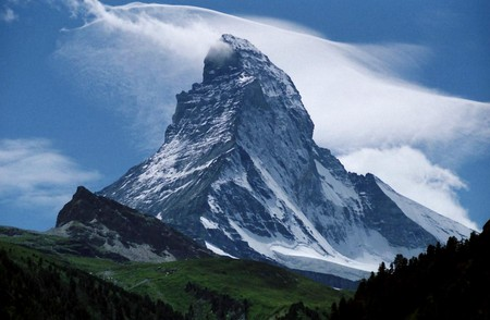 The Matterhorn, not quite a Swiss invention | © Alps /WikiCommons