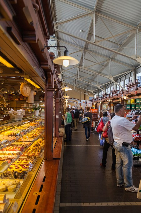 Interior of Helsinki Old Market Hall
