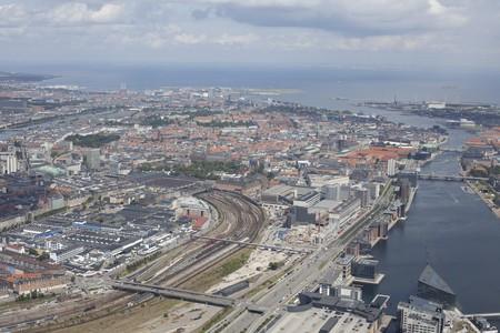 Copenhagen from above | Courtesy of Danish Fly | © Ole Konstantyner