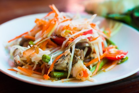 Green papaya salad | © xegxef / Pixabay