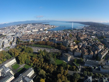Geneva from the air | © Alexey M/WikiCommons