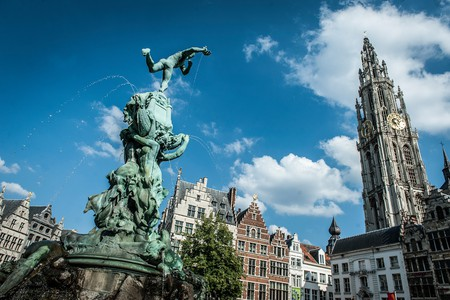 Brabo fountain | © Sigridspinnox.com / Courtesy of Visit Antwerp