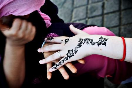 Henna tattoo in Marrakech   © Dani De La Cuesta / Flickr