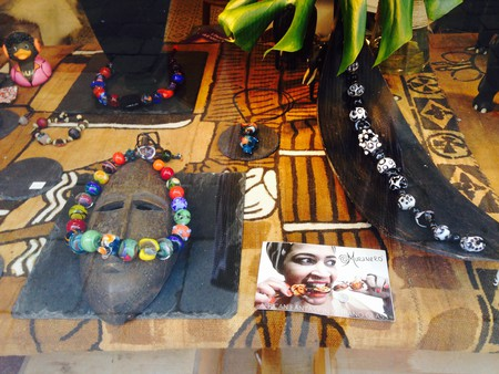 Muranero glass jewelry   Courtesy of the author