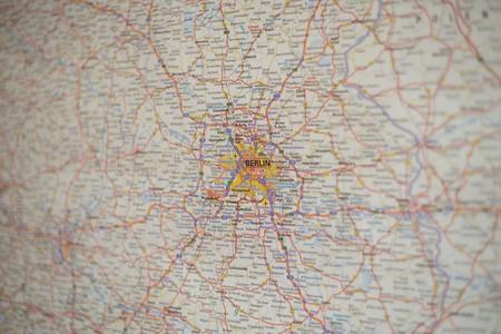 Berlin map | © BarnImages/Pixabay