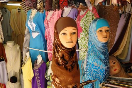 A clothing shop in Morocco   © Adan Jones / Flickr