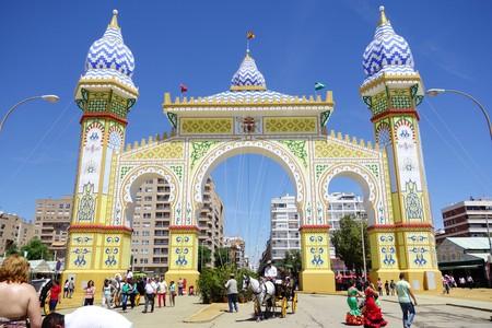 The grand entrance to Seville's April Fair   © Silvia B. Jakiello/Shutterstock