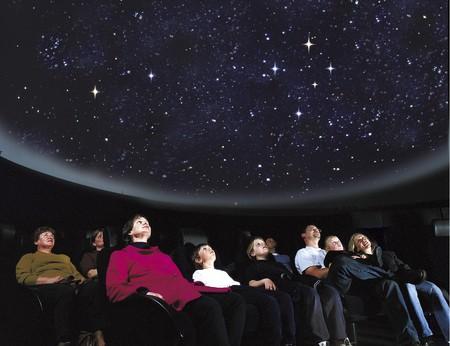 Museum Victoria's Planetarium at Scienceworks, 2000. | Courtsey Scienceworks