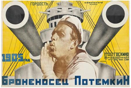 Poster for 'Battleship Potemkin', directed by Sergei Eisenstein, 1925 | ©  |Anton Lavinsky